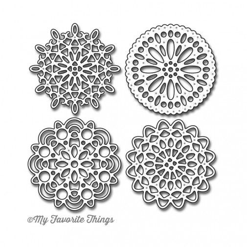 My Favorite Things Die-namics: Mini Delicate Doilies: