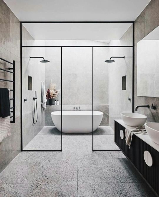 Bathroom Inspiration All Of Architecture My Living Interior Design Is The Definitive Resource In 2020 Modern Small Bathrooms Master Bathroom Design Large Bathrooms