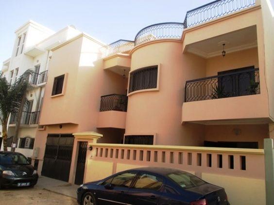 Mermoz dakar villa a louer immobilier au senegal for Agence immobiliere dakar