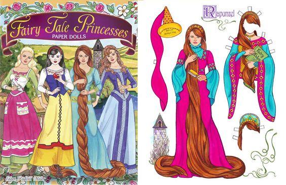 Prachtig geïllustreerd papieren poppen door Eileen Rudisill Miller, in boekvorm uitgegeven door Dover Publications.Inspired door de traditionele sprookjes van gisteren, evenals trendy nieuwe films en tv-shows, deze omkeerbare punch-out poppen verbeelden vier populaire prinsessen — Assepoester, Sneeuwwitje, Rapunzel en Doornroosje. Hun koninklijke kasten (dat moeten worden uitgesneden) zijn bezaaid met bal gowns, bruids kostuums, tiaras en andere schitterende accessoires. Een betoverende…