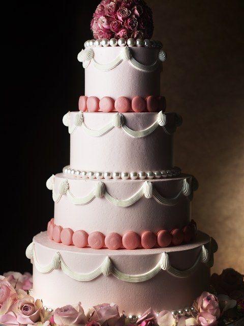 シャングリ・ラ ホテル 東京の写真「ウェディングケーキ」