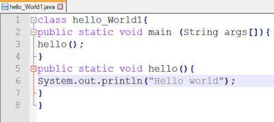 Java Language Hello World Program Code For Java C Hello In