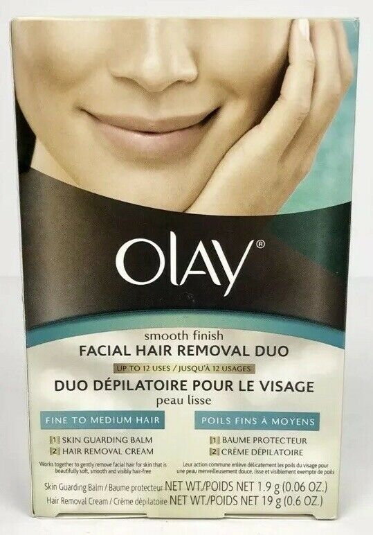 New Olay Smooth Finish Facial Hair Removal Duo Fine To Medium Hair