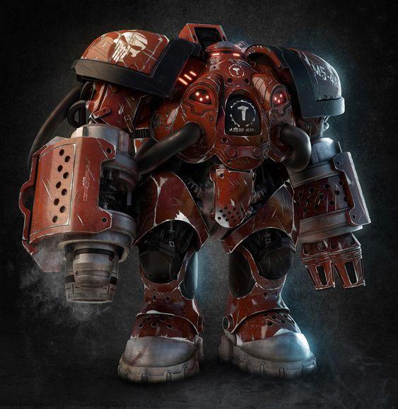 The Marauder Picture (3d, Character, Robot, Fan Art