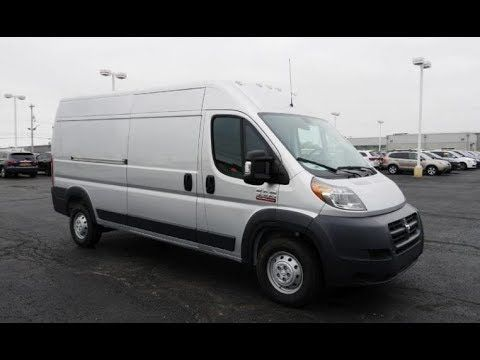 2018 Ram Promaster 3500 159 High Roof Cargo Van For Sale Piqua Ohio Cargo Vans For Sale Cargo Van Ram Promaster