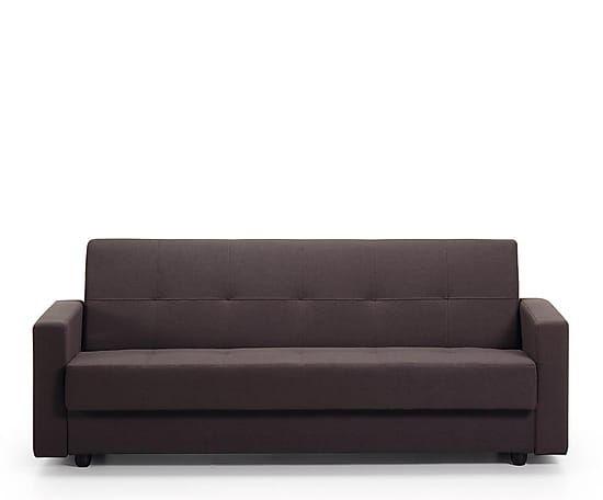 Sofá-cama en madera y algodón Rumba - marrón oscuro 499€ Westwing