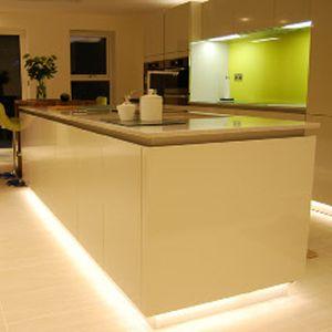 Lighting led and led strip on pinterest - Kitchen plinths ...