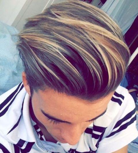 Unterschnitt Frisur Frisuren Manner Haarfarbe Haarfarben