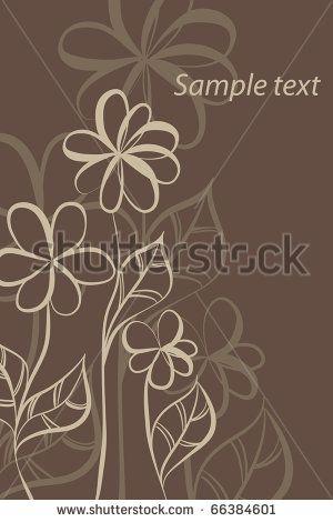 Flores Marrom Fotos, imagens e fotografias Stock | Shutterstock