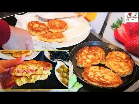 جدييد فطائر الجبن سهلة و سريعة لشرب الشاي بكمية كثيرة سهلة و سريعة التحضير Youtube Food Breakfast Griddle Pan