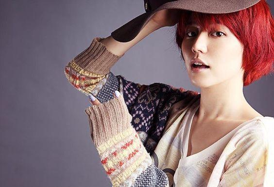 赤髪が可愛い長澤まさみさん