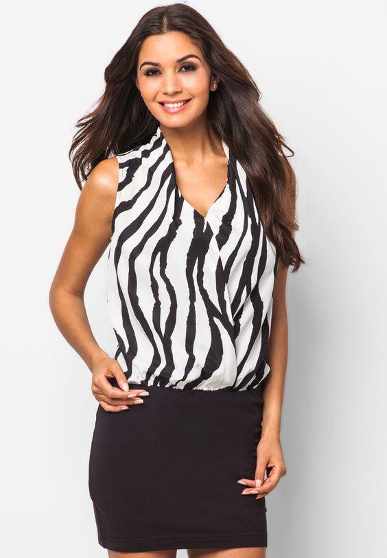 http://www.zalora.com.ph/Something-Borrowed-Collection-Animal-stripe-Dress-105802.html