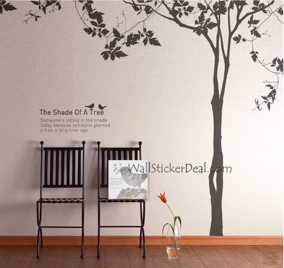 The Shade Of A Tree Wall Stickers