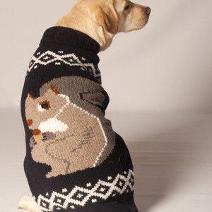 Cowichan Squirrel Sweater