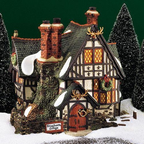 Dept 56 Christmas 2021 Staghorn Lodge In 2021 Lemax Christmas Village Christmas Village Collections Christmas Village Display