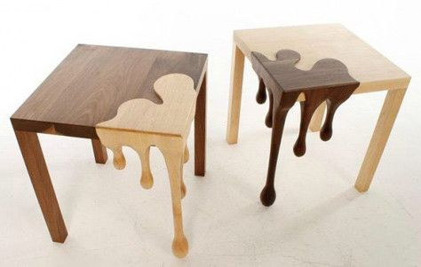 Dripping Wood: Fusion Tables by Matthew Robinson: Dining Table,  Board, Fusion Tables, Furniture Design, Wood Table, Robinson Fusion, Design Idea, Wooden Table