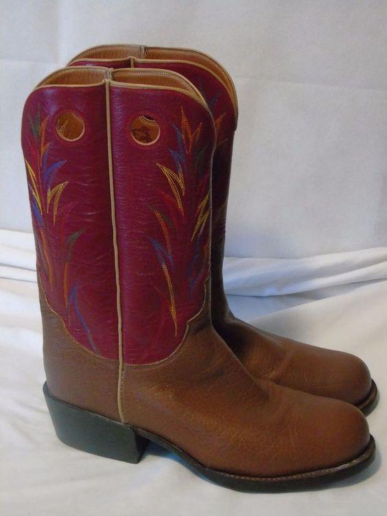Ariat Custom Made Cowboy Western Boots Men's Size 12 #Ariat ...