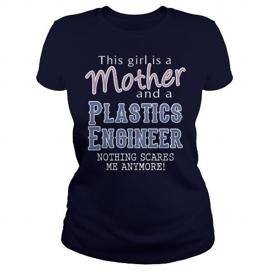 Awesome Tee For A Mom and A Plastics Engineer T Shirts, Hoodie
