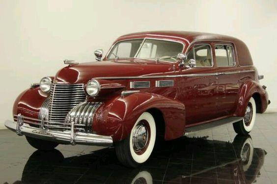 1940 Cadillac Sedan.  Sharp