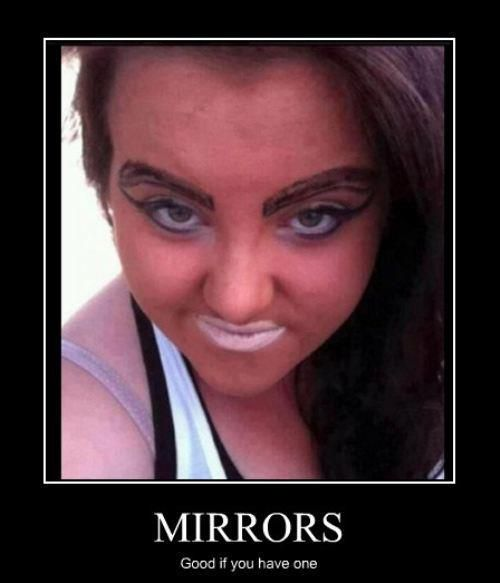 Epic Makeup Fails | Jokes, For women and Humor