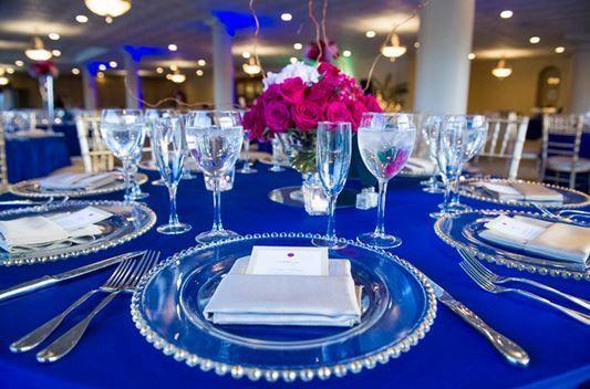 Royal Blue Wedding Decorations 55 Fashion And Wedding Wedding Table Decorations Blue Blue Wedding Decorations Royal Blue Wedding Decorations