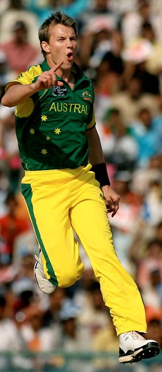Brett Lee A Former Professional Cricketer of Australia and a Channel Nine Cricket Commentator