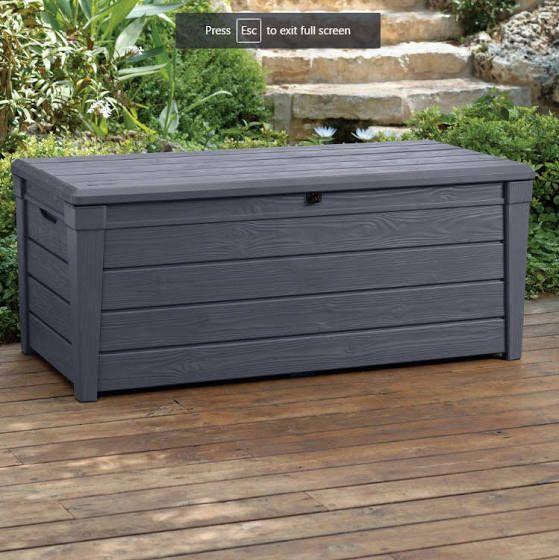 Outdoor Storage Bench Waterproof Outdoor Storage Bench Deck Box Storage Outdoor Deck Storage Box