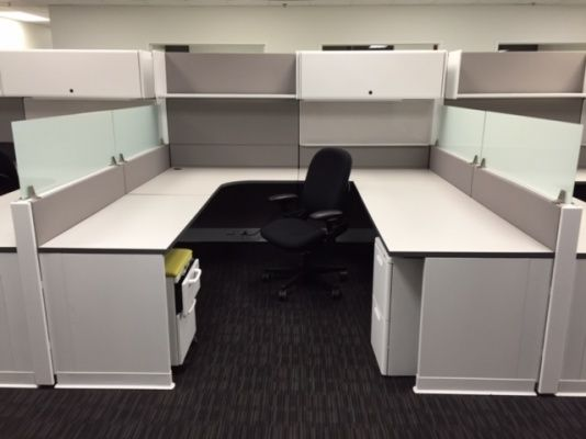 Refurbished Herman Miller Ethospace Workstations Office Cubicle