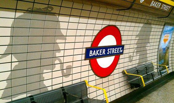 Baker Street, home of Sherlock Holmes  Sweet memories :)