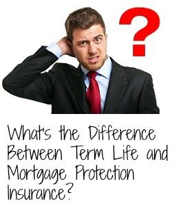What's the difference between term life insurance and mortgage protection insurance? Click the pin to find the answer!