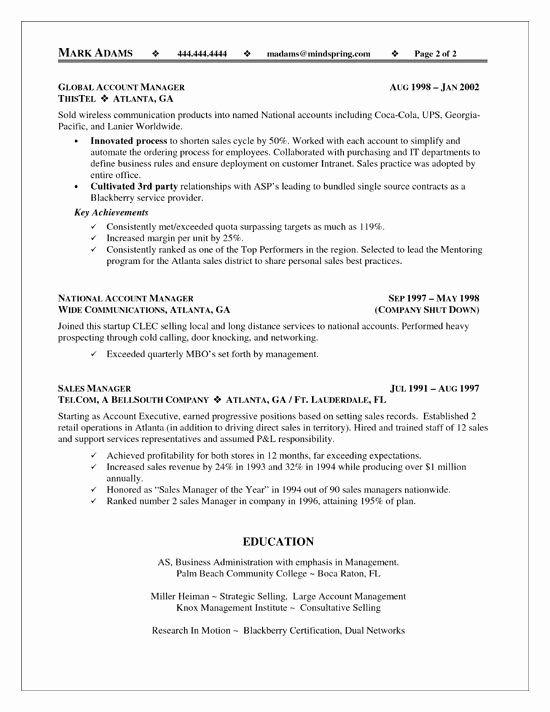 Accounting Executive Resume Samples Elegant Pin Di Resume Templates Di 2020