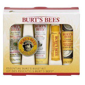 #2: Burt's Bees Essential Burt's Bees Kit.