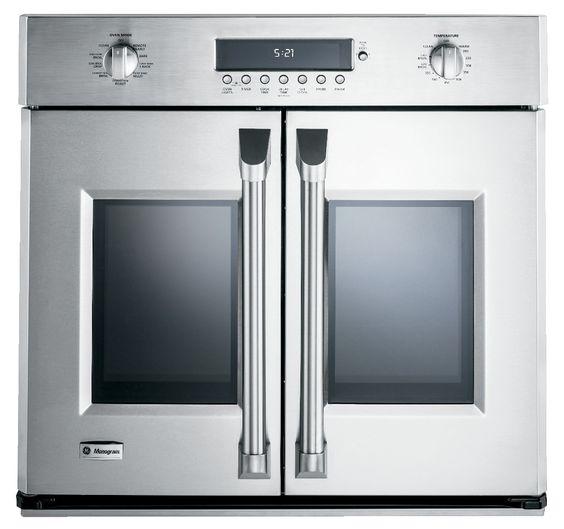 The GE Monogram ZET1FHSS French door wall oven