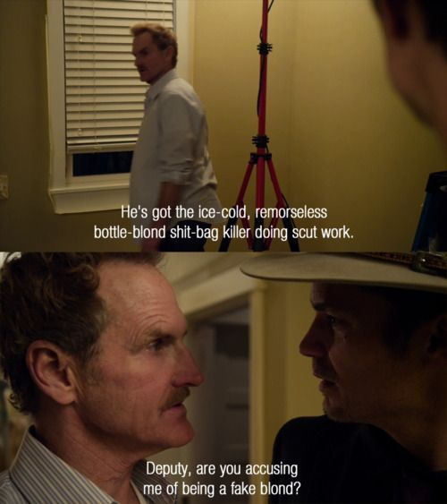 JUSTIFIED Quote - See photos of the FX Western/Crime TV series