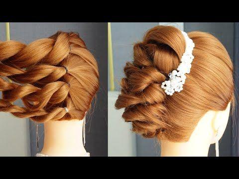 Peinados Hermosos Para Bodas Peinados Para Ninas French Hairstyle Step By Step Youtube French Hair Easy Hairstyles For Long Hair French Braid