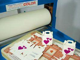 Máquina de Corte e Vinco Calandra - Flock Color