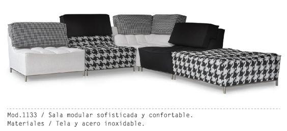 Mueble Interior Mod. 1133 #muebles #sillon #salas #minimalista