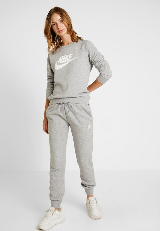 encuesta perderse Fatídico  Nike Sportswear CREW - Felpa - grey heather/white/grigio - Zalando.it    Felpa, Nike sportswear, Nike