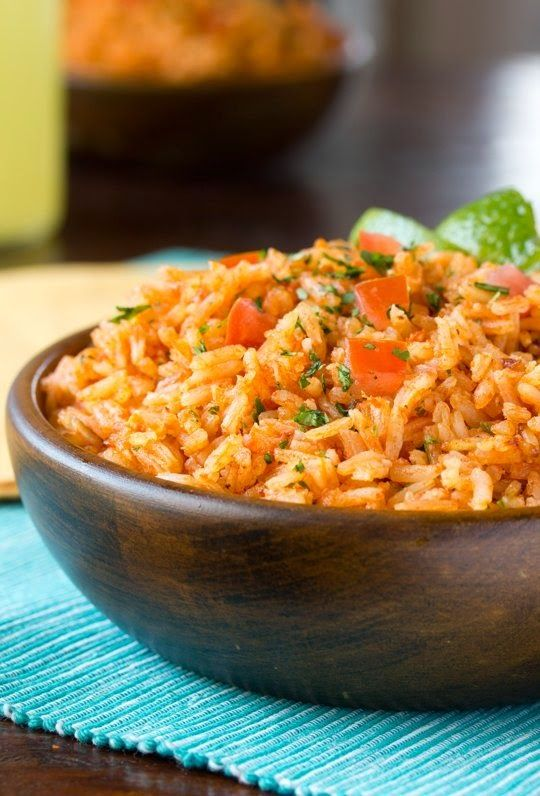 Restaurant-Style Mexican Rice | If you've ever attempted your favorite Mexican restaurant's rice at home and failed, raise your hand. Well you can put it down now, because this one is my all-time family favorite and I think it will become yours too. To be honest, I like it so much better than the rice usually served when I dine out