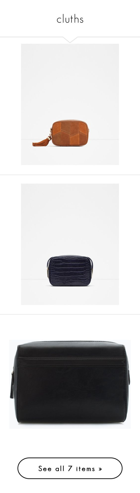 """cluths"" by paradapermitida on Polyvore featuring tops, bags, handbags, shoulder bags, crossbody handbag, cross body, zara crossbody, white purse, white crossbody handbags e men's fashion"