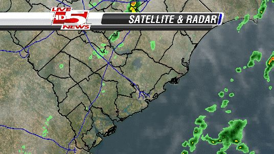 Live Super Doppler MAX LiveNewscom Charleston SC News - Charleston sc doppler radar