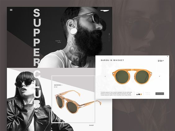 Supperclub Eyewear Redesign