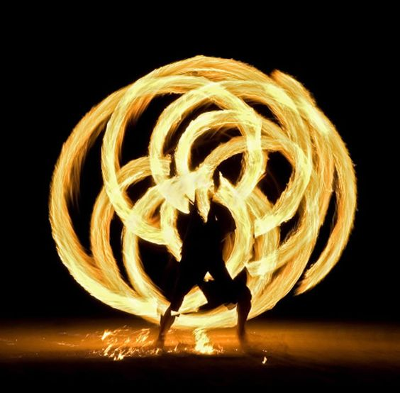 b00mshakalakah:   Fire Dancing (by Tristan Savatier) Since we able to control fire,ceremonial dances with flames has always been a part of old cultures in Samoa,Mexico,New Zealand and elsewhere. But now a days, you will rarely see someone doing a warrior dance around you, however the art form has continued to evolve and it's been beautifully captured with today's cameras