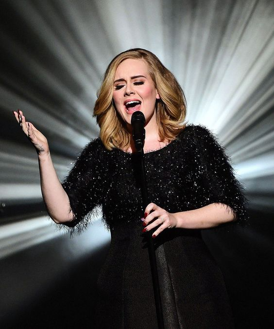 "Adele Sings Hello Live NRJ Awards | The French show was her first full-length version of ""Hello"" to air live. #refinery29 http://www.refinery29.com/2015/11/97215/adele-hello-performance-nrj-awards:"