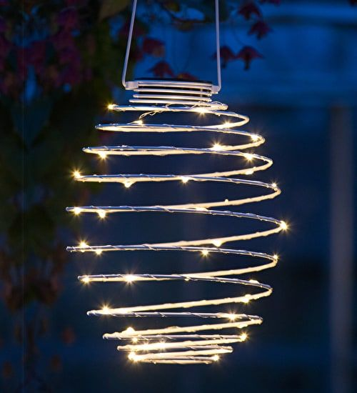 solar wire lantern lanterns decor light crafts powered christmas tree lights