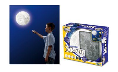 Remote Control Illuminated Moon Unique Gifts | IWOOT