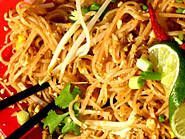 Pad Thai Noodles (served with fresh lime)!