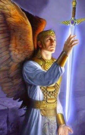 Oraçãoàpoderosa espada excalibur做Arcanjo Miguel