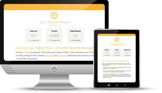 Quill Engage google analytics reporting