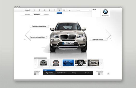 ★ BMW Sales Tool by Martin Oberhäuser, via Behance